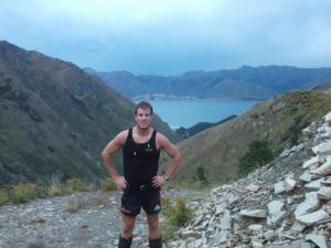 Me Towards Lake Hawea