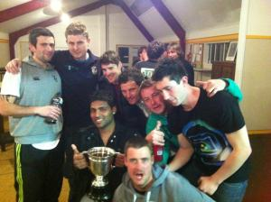 Queens Park Charity Cup Champions 2012